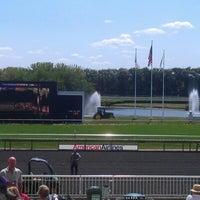 Photo taken at Arlington International Racecourse by Ryan L. on 8/11/2012