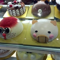 Photo taken at Shilla Korean Bakery by Jason W. on 8/18/2012