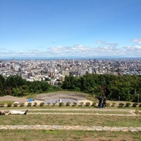 Photo taken at Asahiyama Kinen Park by Akiko T. on 8/7/2012