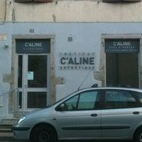 Photo taken at C'aline by Thomas S. on 8/18/2012