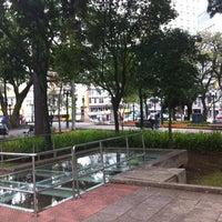Photo taken at Praça Tiradentes by Nehi O. on 4/21/2012