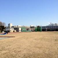 Photo taken at Nihon University Track and Field Stadium by hiro I. on 2/12/2012