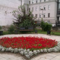 Photo taken at Сквер им. Дзержинского by Елена К. on 7/27/2012