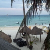 Photo taken at Hotel Colibrí Beach by Maria Cecilia M. on 4/10/2012
