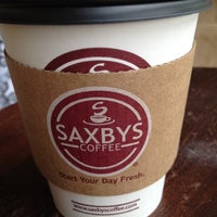 Photo taken at Saxbys Coffee by Lisa F. on 5/2/2012