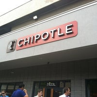 Photo taken at Chipotle Mexican Grill by Malcolm J. on 5/10/2012