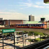 Photo taken at DPM - Renaissance Center Station by Jonathan R. on 6/28/2012
