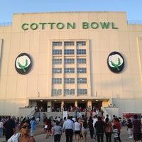 Photo taken at Cotton Bowl by Sarah P. on 7/5/2012