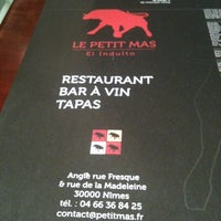 Photo taken at Le Petit Mas by Guillaume S. on 5/4/2012