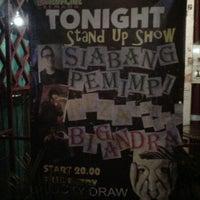 Photo taken at Comedy Cafe by Dian Novita E. on 6/23/2012