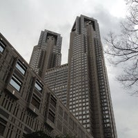Foto tirada no(a) Tokyo Metropolitan Government Building por kagizo m. em 2/26/2012