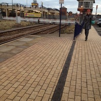 Photo taken at Redcar Central Railway Station (RCC) by Ash G. on 2/13/2012
