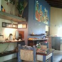 Photo taken at Pousada Vila Tamarindo Eco Lodge by luisa p. on 4/29/2012