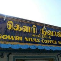 Photo taken at Gowri Nivas Coffe Hotel by Tharma S. on 9/12/2012