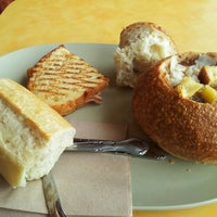 Photo taken at Panera Bread by Allen C. on 8/13/2012
