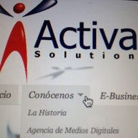 Photo taken at Activa! Solutions by José Miguel P. on 8/18/2012