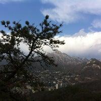 Photo taken at Bukak Palgakjeong by Ravenna K. on 3/24/2012