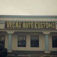Photo taken at Vegas Auto Customs by Demont D. on 8/16/2012