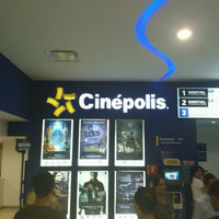 Photo taken at Cinépolis by Carlos R. on 9/9/2012