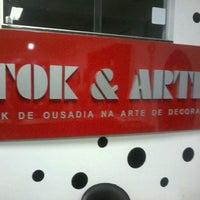 5/4/2012 tarihinde Fabricio C.ziyaretçi tarafından Tok & Arte Decorações de Interiores'de çekilen fotoğraf