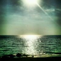 Photo taken at Castellammare Beach by Michele V. on 8/19/2012