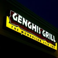 Photo taken at Genghis Grill by Rakesh R. on 7/14/2012