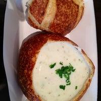 Photo taken at Boudin Bakery Café Macy's Kiosk by B s. on 2/14/2012