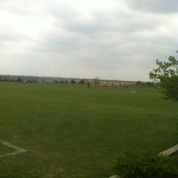 Photo taken at Loyola Academy Fields (Munz Campus) by Steve V. on 4/15/2012
