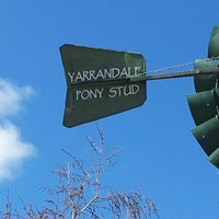 Photo taken at Yarrandale Pony Stud by Jake B. on 9/9/2012