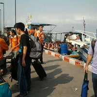 Photo taken at Koh Loi Pier by Phonecyber H. on 2/11/2012