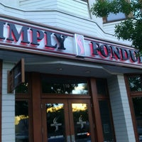 Photo taken at Simply Fondue by Chelsea Q. on 6/24/2012