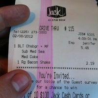 Photo taken at Jack in the Box by Ashton M. on 2/8/2012