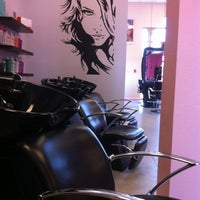 Photo taken at E Geovanni Salon by Trey H. on 3/27/2012