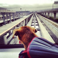 Photo taken at SFO AirTrain Station by Jonathan K. on 3/17/2012