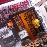 Photo taken at Café Café by José María R. on 4/27/2012