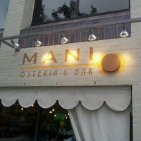 Photo taken at Mani Osteria & Bar by DRR on 8/9/2012