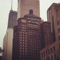 Photo taken at Warwick Allerton Hotel Chicago by Filippo M. on 8/16/2012