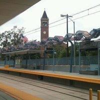 Photo taken at Expo Park/USC Metro Station by Gary B. on 4/30/2012