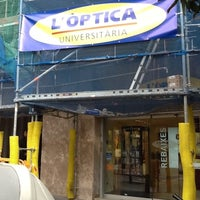 Photo taken at Optica Universitaria by Hector D. on 2/17/2012