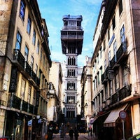Photo taken at Elevador de Santa Justa by Shaheen A. on 3/1/2012