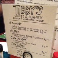 Photo taken at Tibby's New Orleans Kitchen by Sean M. on 3/4/2012