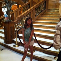 Photo taken at Titanic: 100th Anniversary Exhibit by Allison H. on 7/22/2012