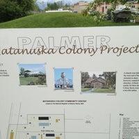 Photo taken at Palmer Matanuska Colony Project by Gary M. on 6/8/2012