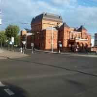 Photo taken at Могилёвский драматический театр by Vera N. on 7/20/2012