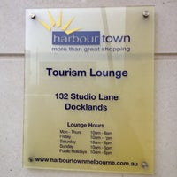 Photo taken at Harbour Town Tourism Lounge by Alan T. on 7/10/2012
