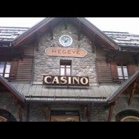 Photo taken at Casino Barrière de Megève by Kevin D. on 7/22/2012