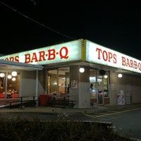 Photo taken at Tops Bar-B-Q by Anthony C. on 8/30/2012