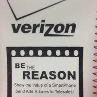 Photo taken at Verizon Wireless by Eden D. on 4/1/2012