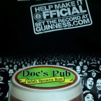 Photo taken at Doc's Pub Irish Sports Bar by Niki D. on 3/17/2012