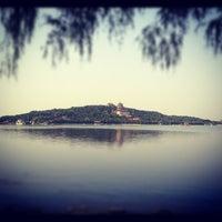 Photo taken at 昆明湖 Kunming Lake by Donglin L. on 6/5/2012